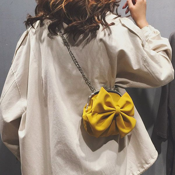 Bow Round Bag
